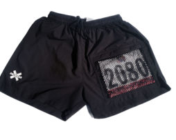 "Xracewear Men's Running Shorts 4"" Inseam With Race Bib Pocket"